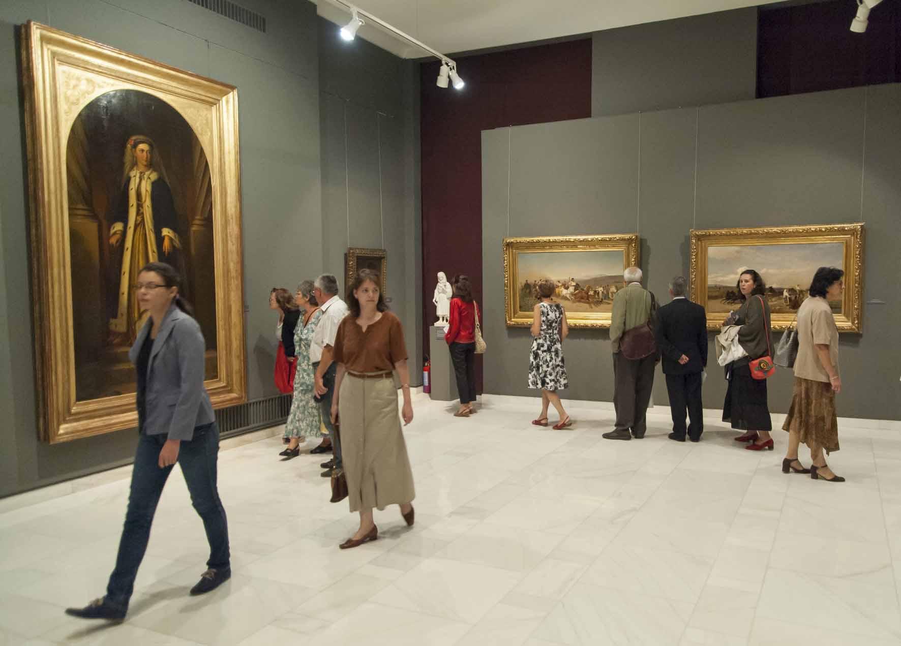 Sala 3 - Sala 1 - Expoziţia Mitul naţional. Contribuţia artelor la definirea identităţii româneşti (1830 – 1930)