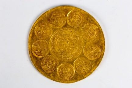 Moneda de 100 ducati emia de Mihail Apafi_MNIR (1)