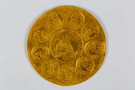 Moneda de 100 ducati emisa de Mihail Apafi_MNIR (2)
